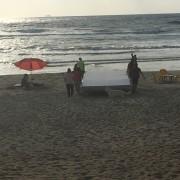 אירוע סוף שנה התעמלות קרקע בים